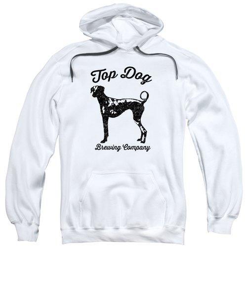 Top Dog Brewing Company Tee Sweatshirt by Edward Fielding