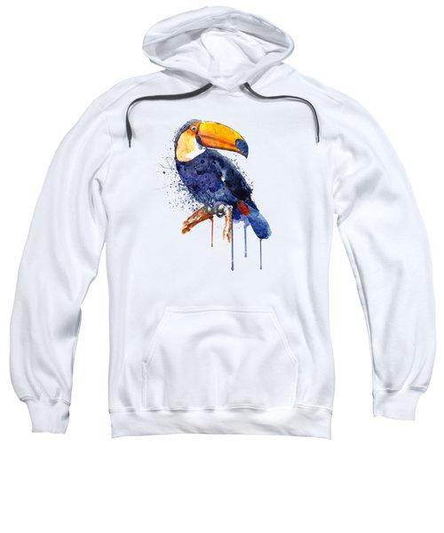 Toucan Sweatshirt by Marian Voicu