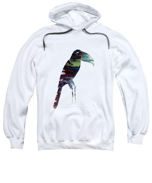 Toucan Sweatshirt by Mordax Furittus