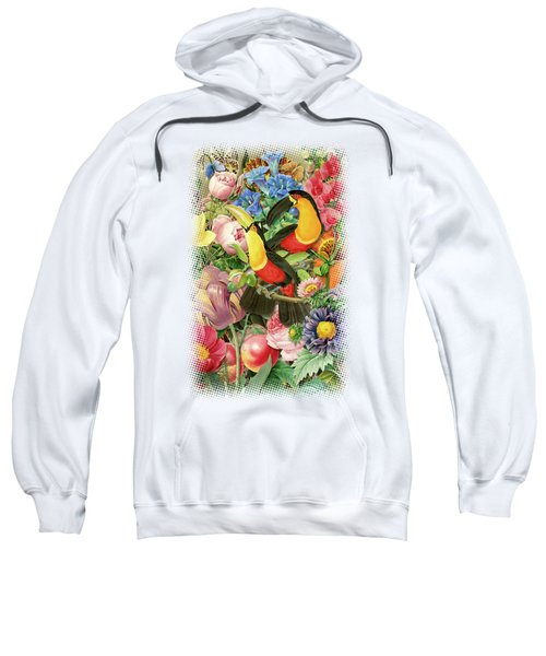Toucans Sweatshirt by Gary Grayson