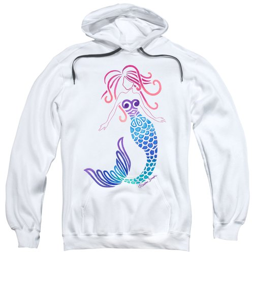 Tribal Mermaid Sweatshirt by Heather Schaefer