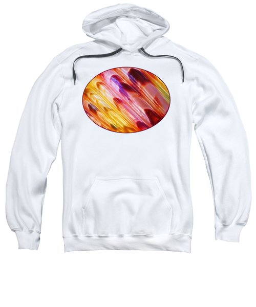 Triton Seashell Multicolor Abstract Sweatshirt by Gill Billington
