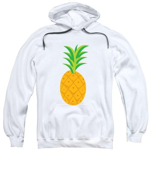 Tropical Fruits Ananas Pineapple Sweatshirt by MGdezigns
