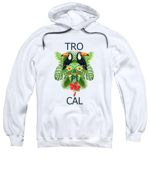 Tropical Summer  Sweatshirt by Mark Ashkenazi