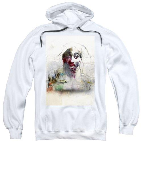 Tupac Graffitti 2656 Sweatshirt by Jani Heinonen