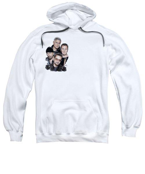 U2 Sweatshirt by Melanie D