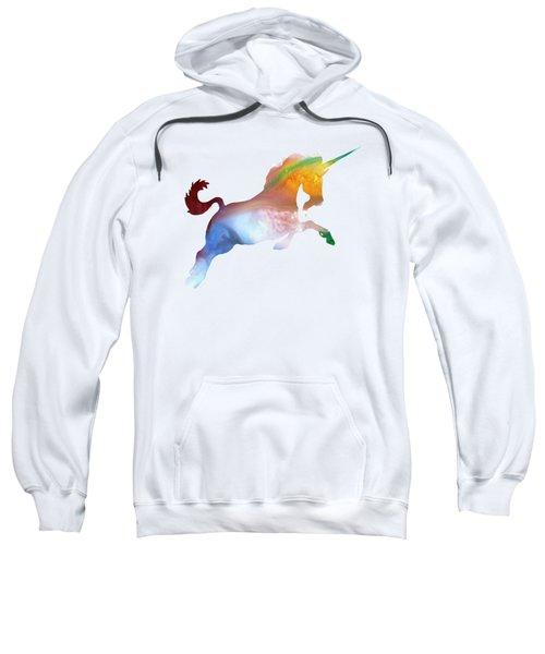 Unicorn Sweatshirt by Mordax Furittus