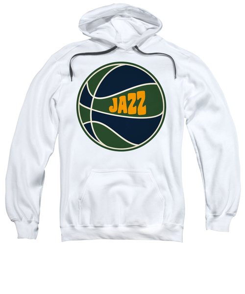 Utah Jazz Retro Shirt Sweatshirt by Joe Hamilton
