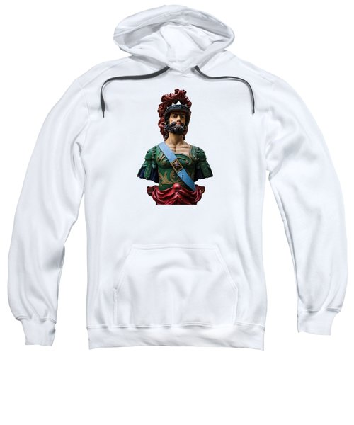 Vintage Ships Bust Sweatshirt by Martin Newman