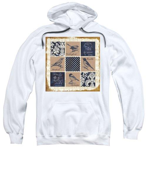 Vintage Songbird Patch 2 Sweatshirt by Debbie DeWitt