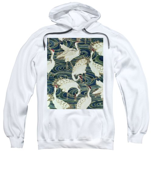 Vintage Wallpaper Design Sweatshirt by English School