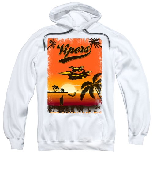 Vipers  F16 Sweatshirt by Clear II land Net