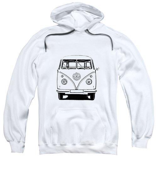 Vw Bus T-shirt Sweatshirt by Edward Fielding