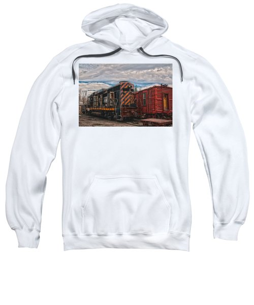 Waiting For Work Sweatshirt by Michael Connor