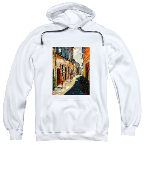 Warmth Of A Barcelona Street Sweatshirt by Andre Dluhos