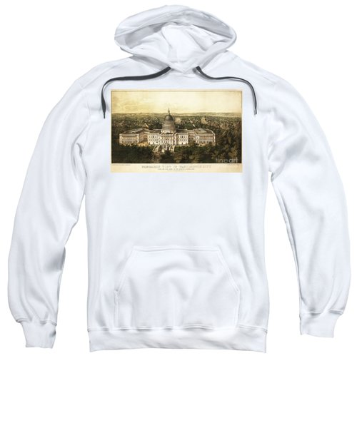 Washington City 1857 Sweatshirt by Jon Neidert