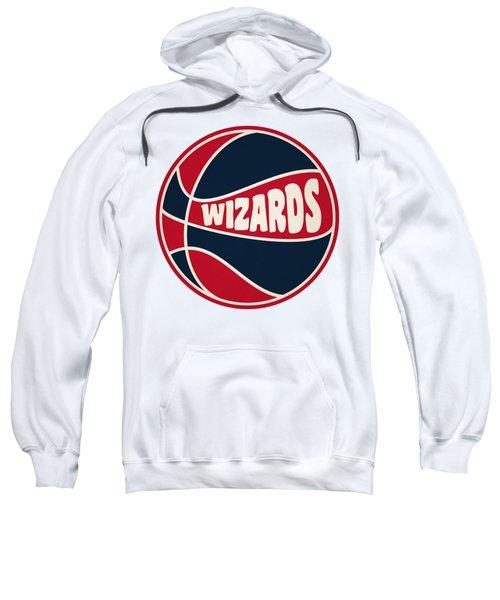 Washington Wizards Retro Shirt Sweatshirt by Joe Hamilton