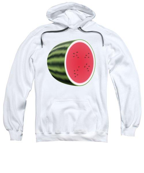 Water Melon Sweatshirt by Miroslav Nemecek