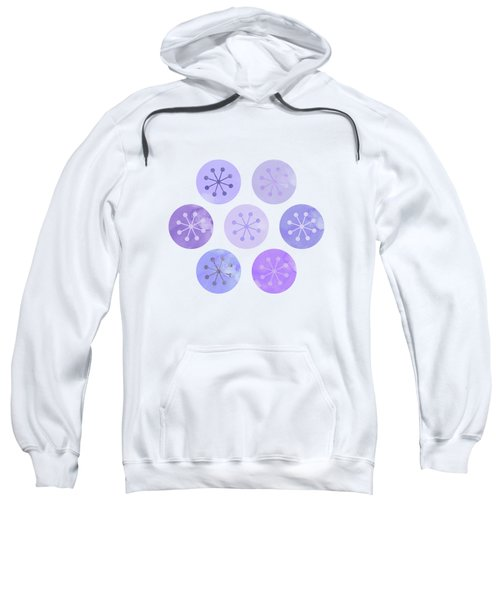 Watercolor Lovely Pattern II Sweatshirt by Amir Faysal