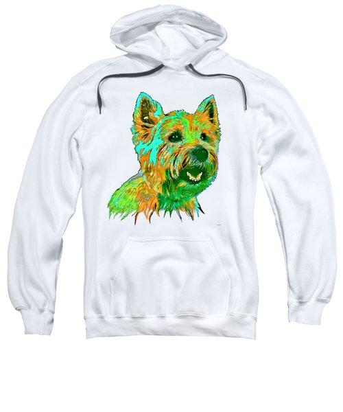 West Highland Terrier Sweatshirt by Marlene Watson