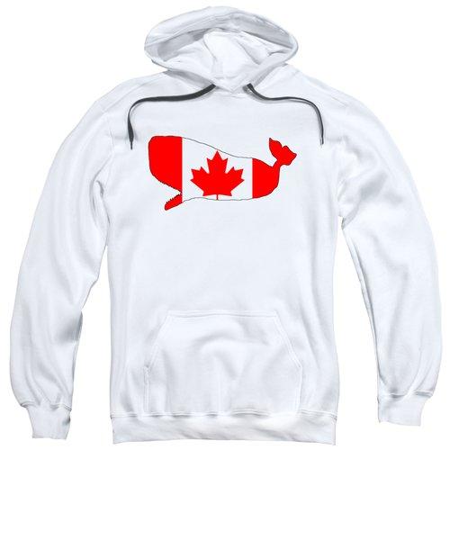 Whale Canada Sweatshirt by Mordax Furittus