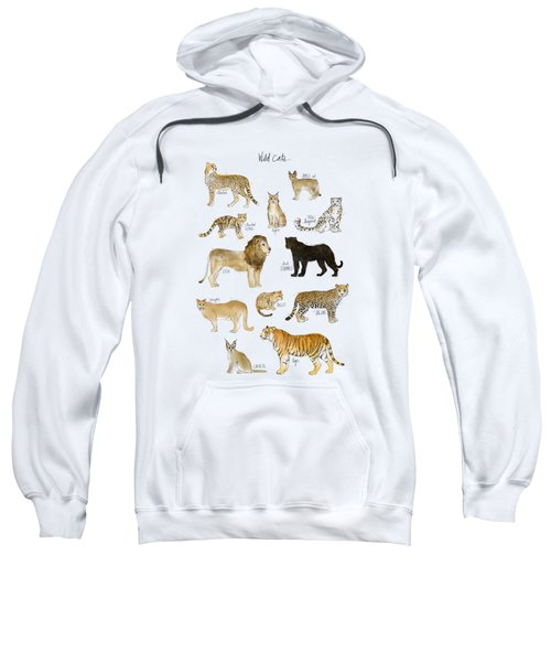 Wild Cats Sweatshirt by Amy Hamilton