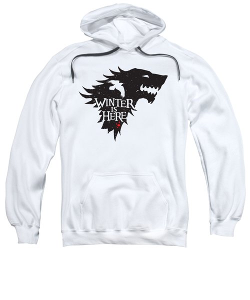 Winter Is Here Sweatshirt by Edward Draganski