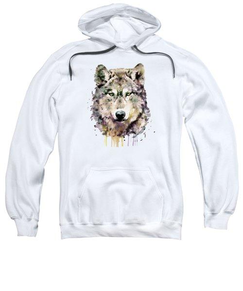Wolf Head Sweatshirt by Marian Voicu