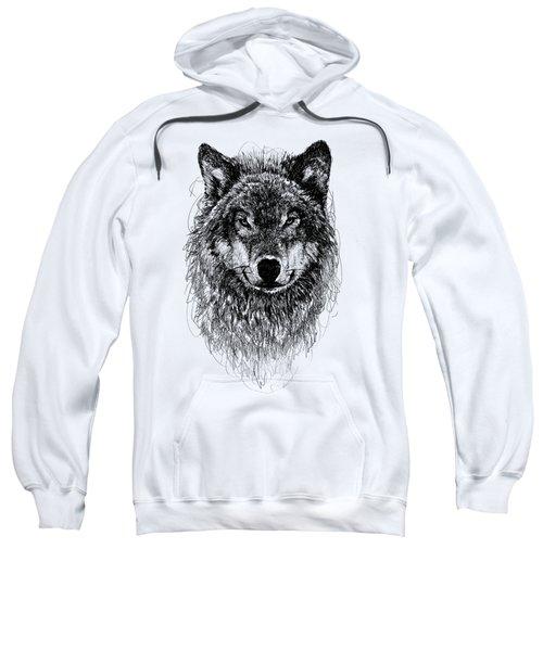 Wolf Sweatshirt by Michael  Volpicelli