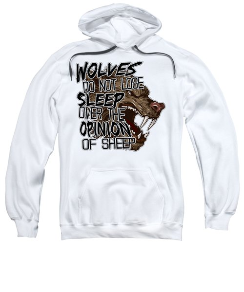 Wolves And Sheep Sweatshirt by Michelle Murphy