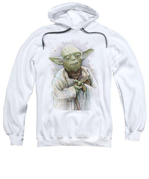 Yoda Sweatshirt by Olga Shvartsur
