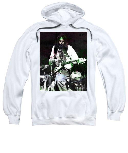 Young Neil Sweatshirt by John Malone