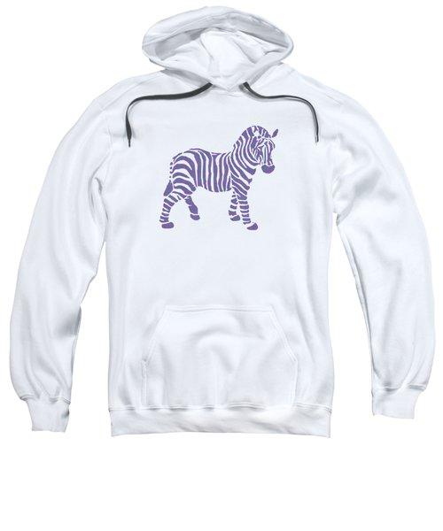 Zebra Stripes Pattern Sweatshirt by Christina Rollo