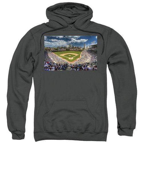 0234 Wrigley Field Sweatshirt by Steve Sturgill