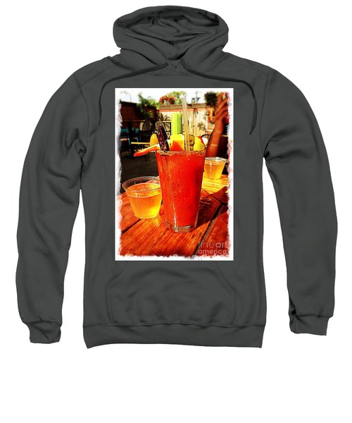 Morning Bloody Sweatshirt by Perry Webster