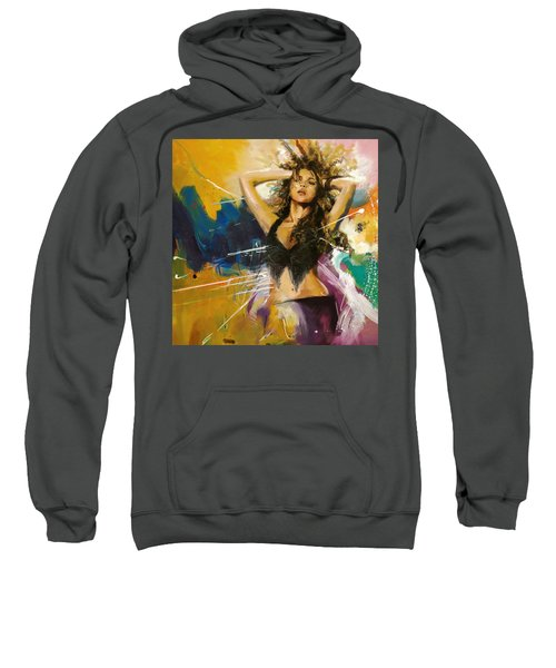 Shakira Sweatshirt by Corporate Art Task Force