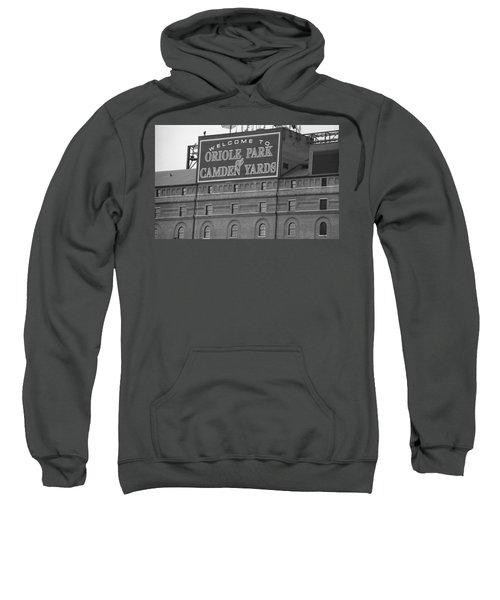 Baltimore Orioles Park At Camden Yards Sweatshirt by Frank Romeo