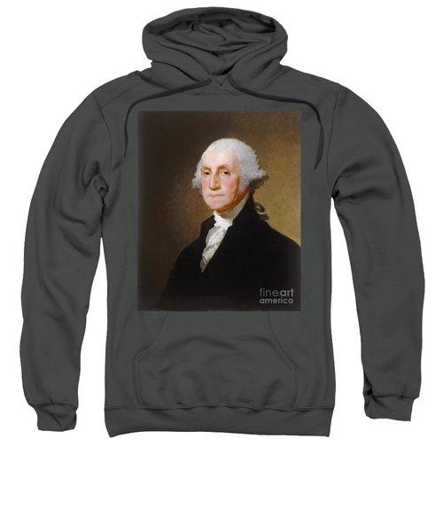 George Washington Sweatshirt by Gilbert Stuart