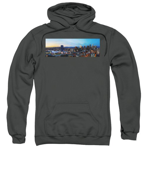 Los Angeles Skyline Sweatshirt by Kelley King