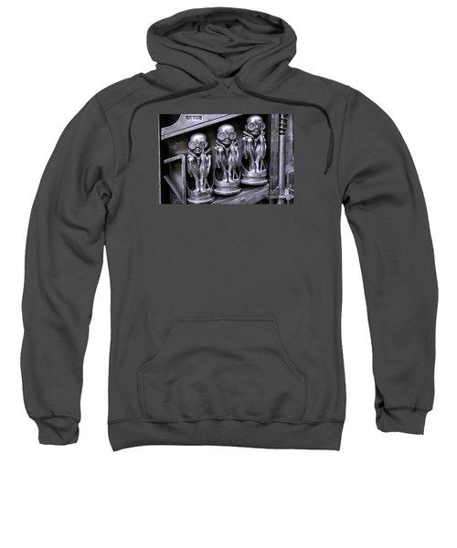 Alien Elton Sweatshirt by Timothy Hacker
