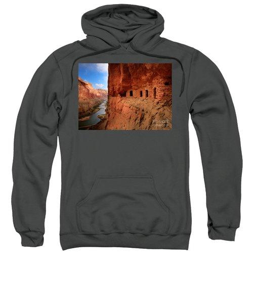 Anasazi Granaries Sweatshirt by Inge Johnsson