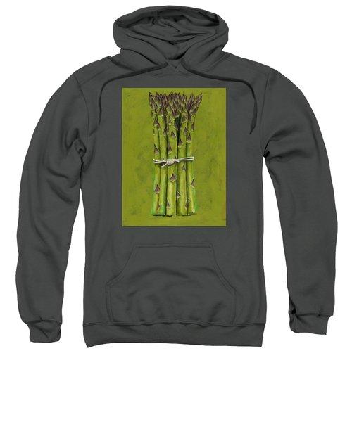 Asparagus Sweatshirt by Brian James