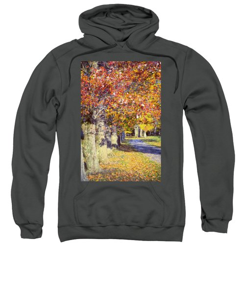 Autumn In Hyde Park Sweatshirt by Joan Carroll