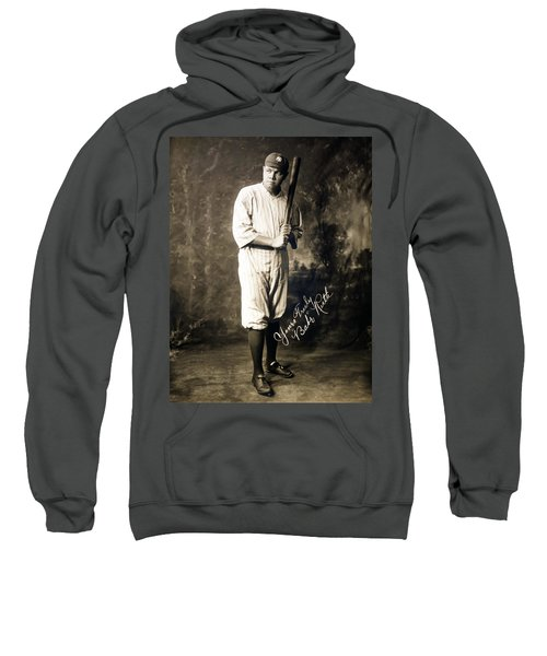 Babe Ruth 1920 Sweatshirt by Mountain Dreams