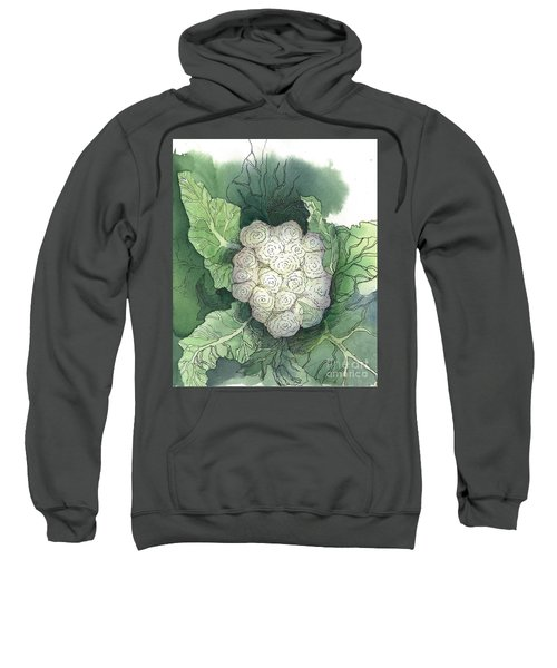 Baby Cauliflower Sweatshirt by Maria Hunt
