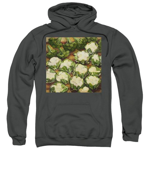 Cauliflower March Sweatshirt by Jen Norton