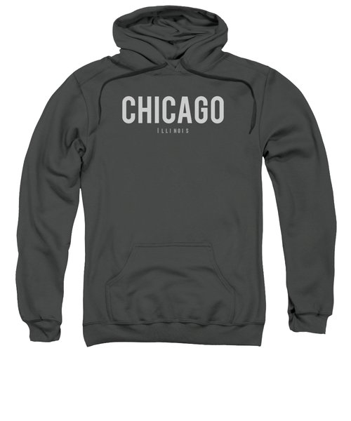Chicago, Illinois Sweatshirt by Design Ideas