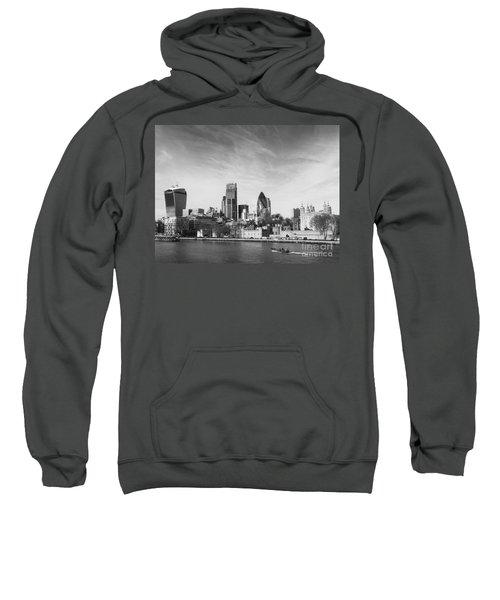 City Of London  Sweatshirt by Pixel Chimp