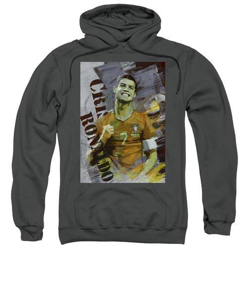 Cristiano Ronaldo Sweatshirt by Corporate Art Task Force