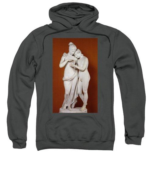Cupid And Psyche Sweatshirt by Antonio Canova